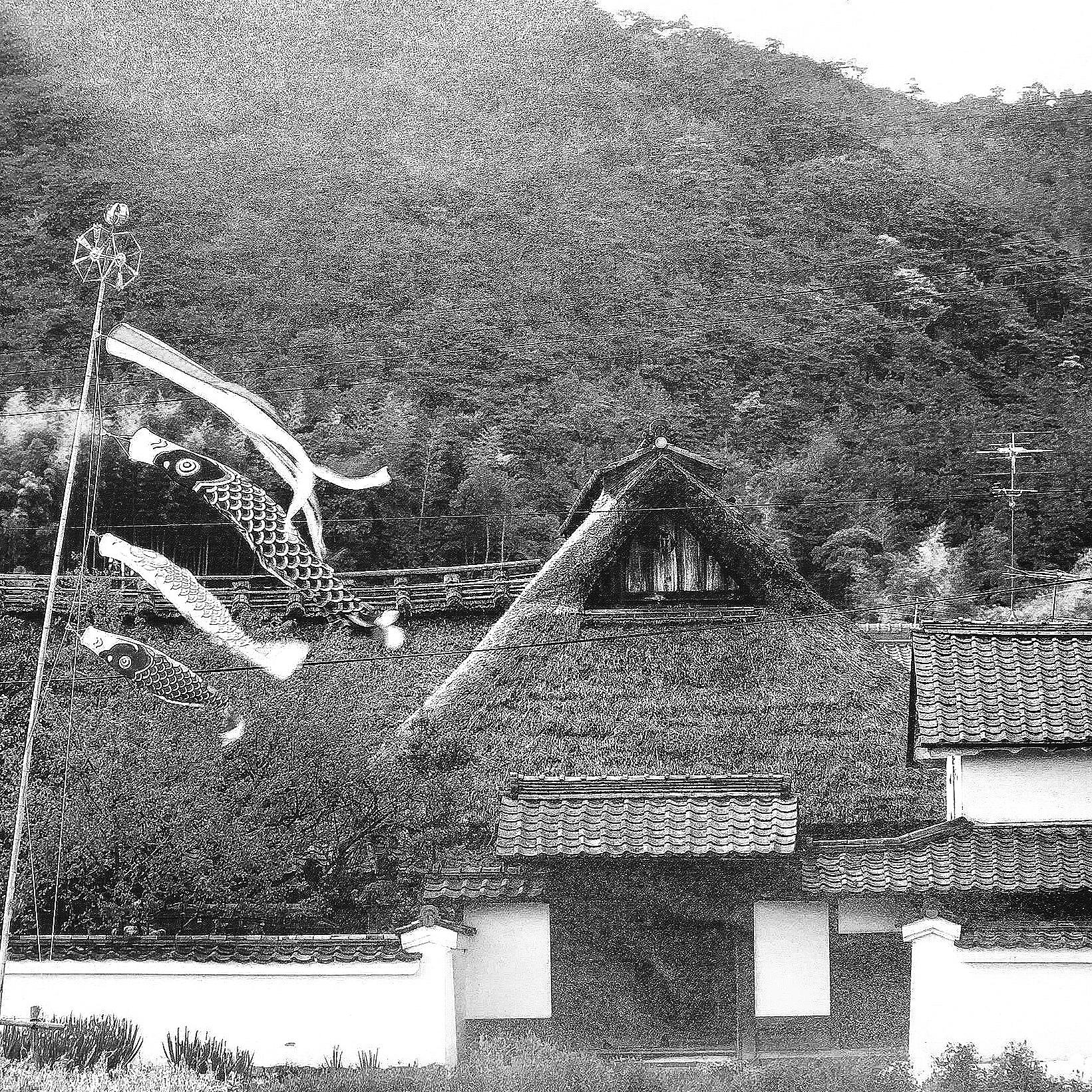 旧井上家 - 江戸中期からの築400年の豪農の民家と庭園を修復(京都市右京区 2019年)