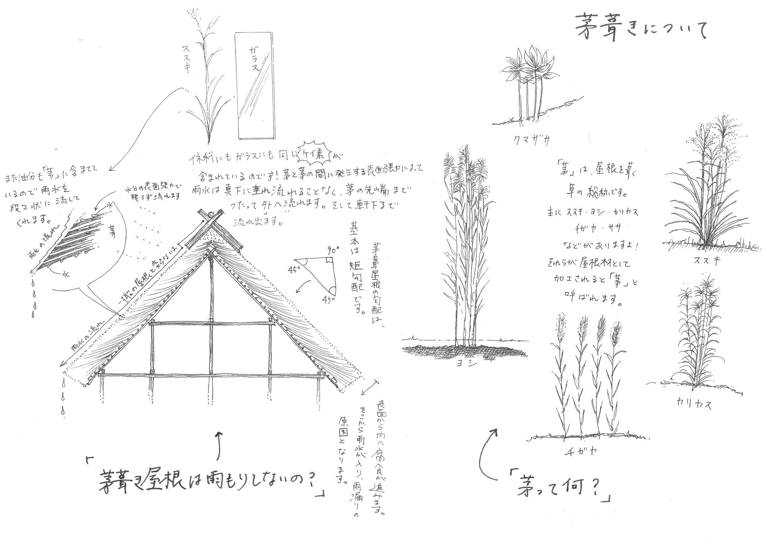 美山茅葺株式会社の岡 祐紀さんにご提供いただきました