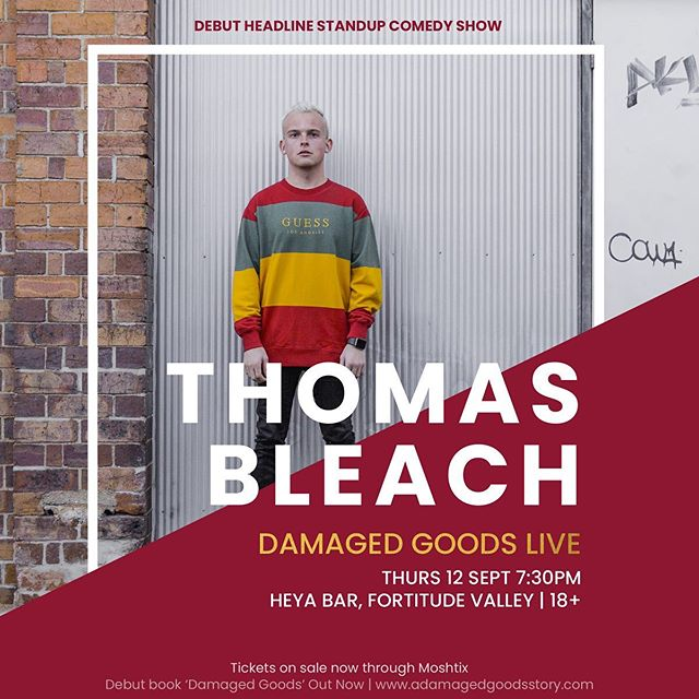 Damaged Goods LIVE at Heya Bar in Brisbane! This was the debut headline stand up comedy show that dived deep into the chapters of Damaged Goods 🌈