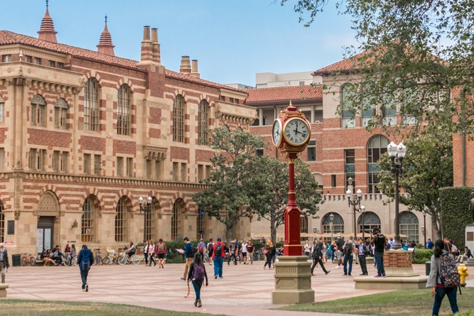 University of Southern California campus tour - 1-hour campus tour will be led by students currently attending the university.