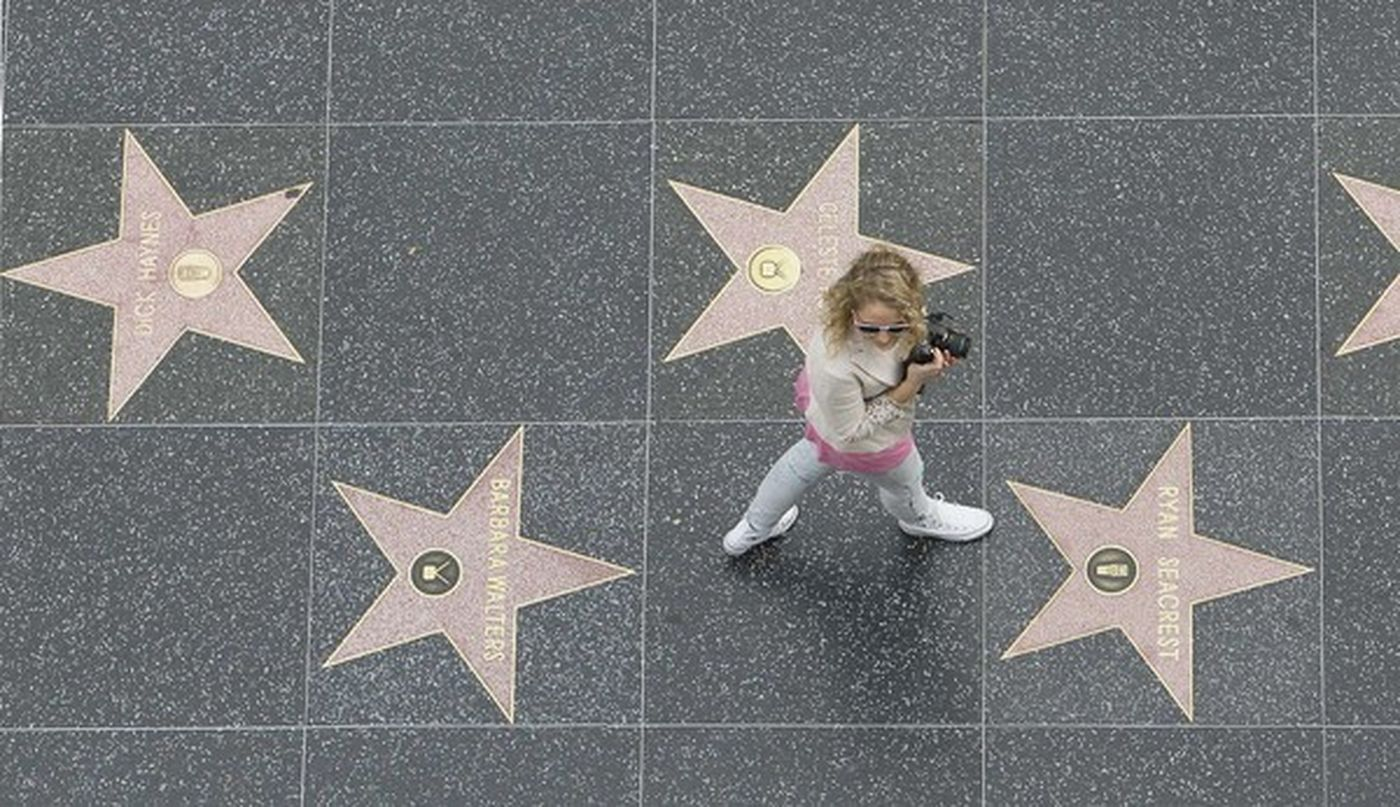 Hollywood Walk of Fame - Only in Los Angeles are stars so common that they can even be found on the sidewalk. Studded with more than 2,600 brass stars across 18 city blocks, the Hollywood Walk of Fame features names of celebrities in mini monuments.