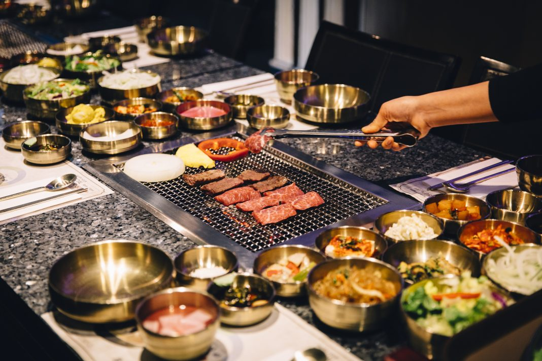 korean bBQ - The sizzle and smoke of the tabletop Korean barbecue is one of the definitive features of the L.A.dining scene.