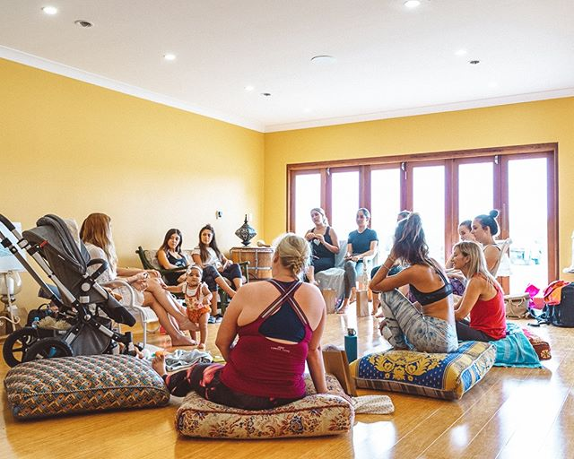 A women's circle at a retreat we hosted. #Askara⁠ ⁠ Link in bio for event space hire.