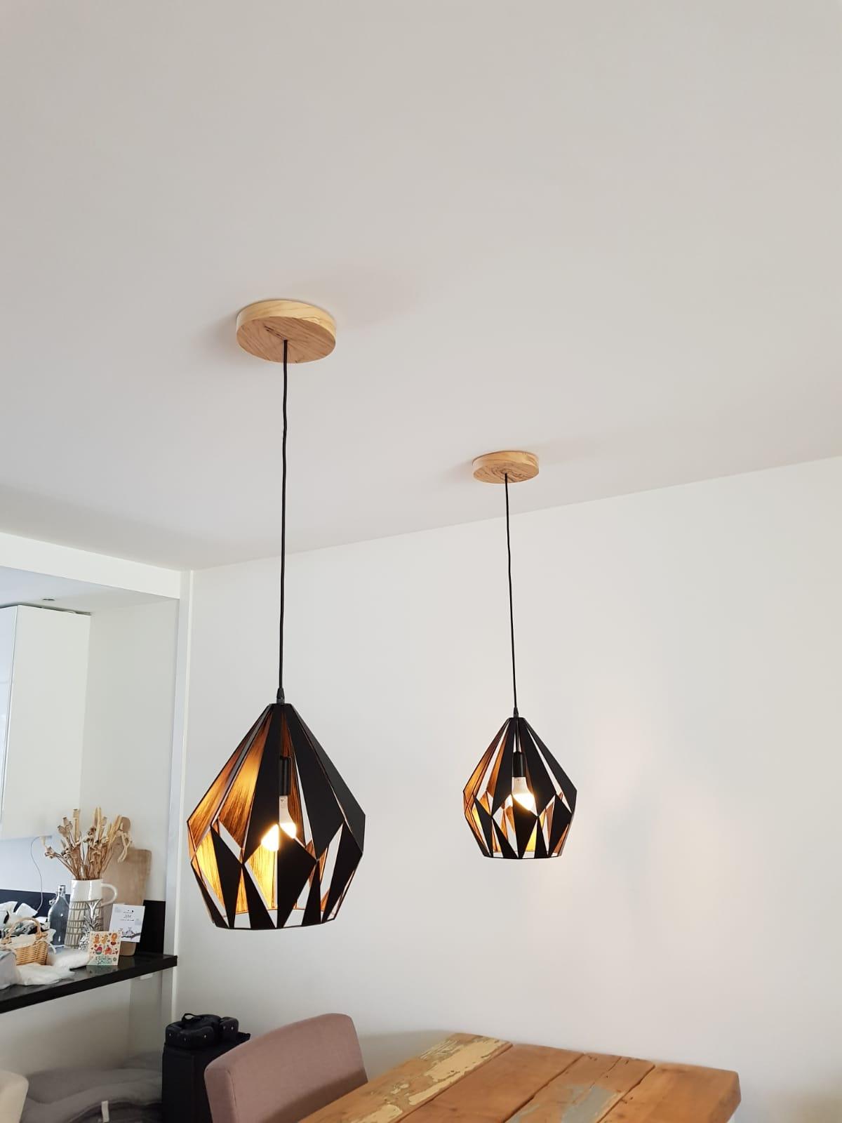 Plafond cover voor lampen
