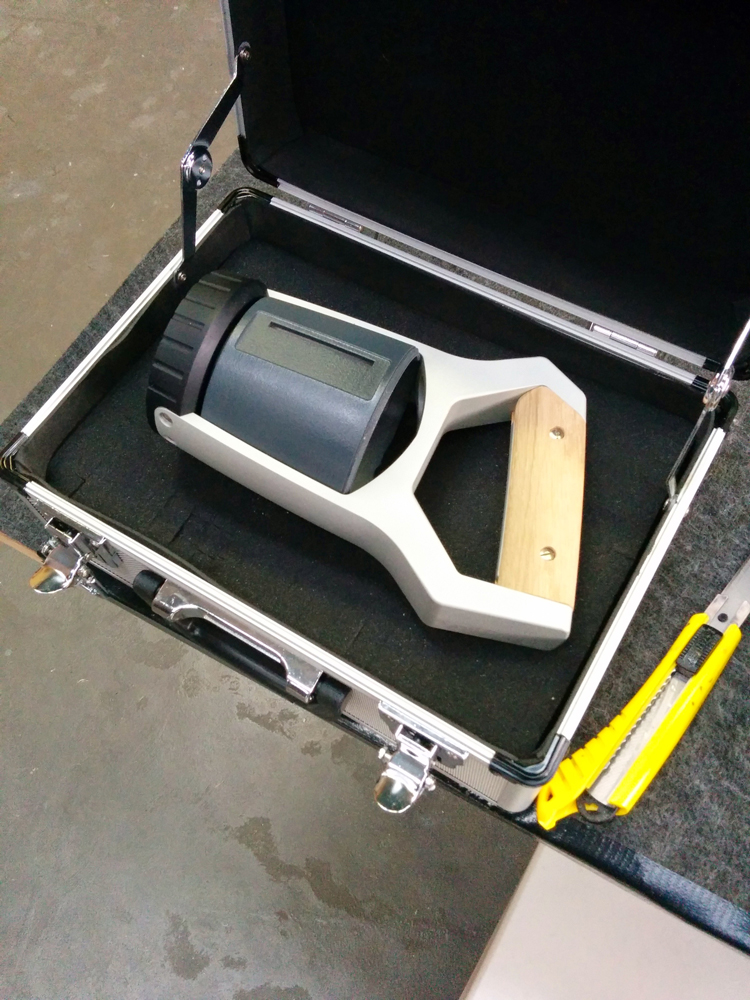 Agrocare scanner prototype