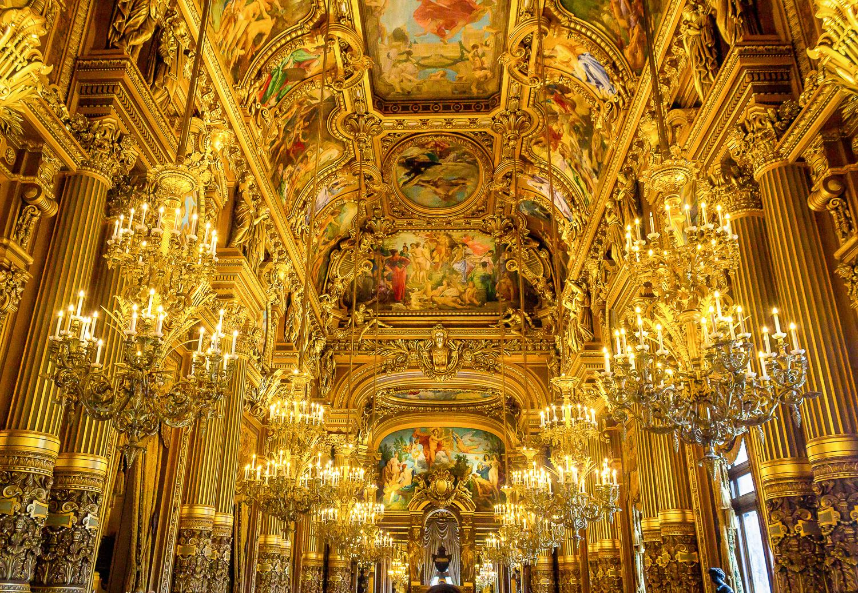 Grand Foyer hallway, Paris Opera House