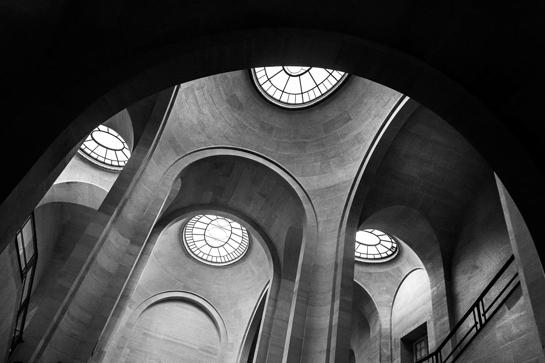 Beautiful Interior of Louvre Museum