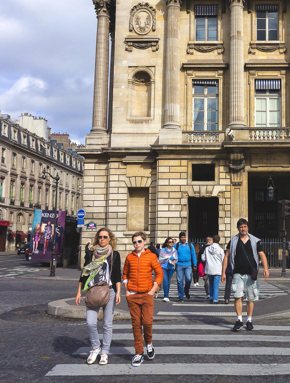 Lifestyle & street fashion in Paris