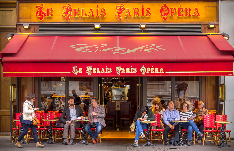 Opera Cafe at Paris