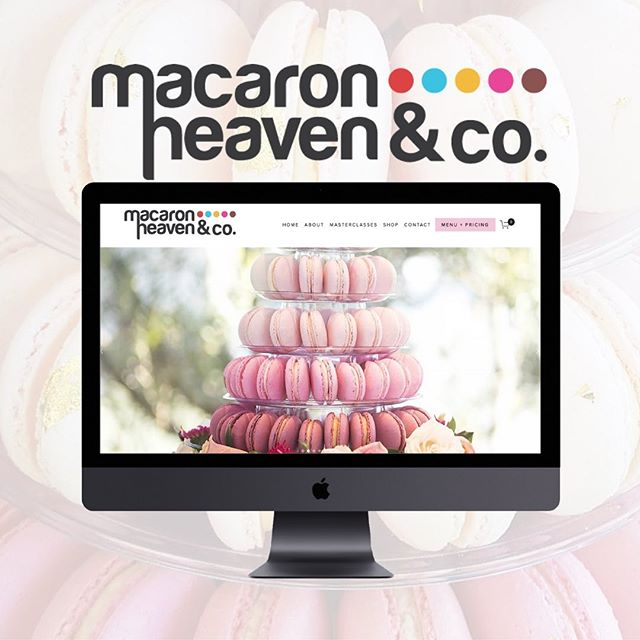 IT'S LAUNCH DAY! 🥂 . Macaron Heaven & Co are a bespoke dessert boutique specialising in French Macarons and high-end dessert tables, and if that description alone doesn't have your mouth watering than the deliciously beautiful images on their brand new website sure will🧁 . It was an absolutely dream creating this website and as amazing as the images are, my absolute favourite part is by far the about page and the beautiful story they share of why Macaron Heaven & Co was created, head to macaronheavenandco.com to check it out ✨ @macaronheaven . . . . . #squarespacedesigner #websitedesigns #goldcoastbusiness #dessertheaven #macaronlovers #gcgib #aucklandcakes #smallbizowner #brisbanesmallbusiness #newwebsitelaunch #frenchmacaron #goldcoasteats
