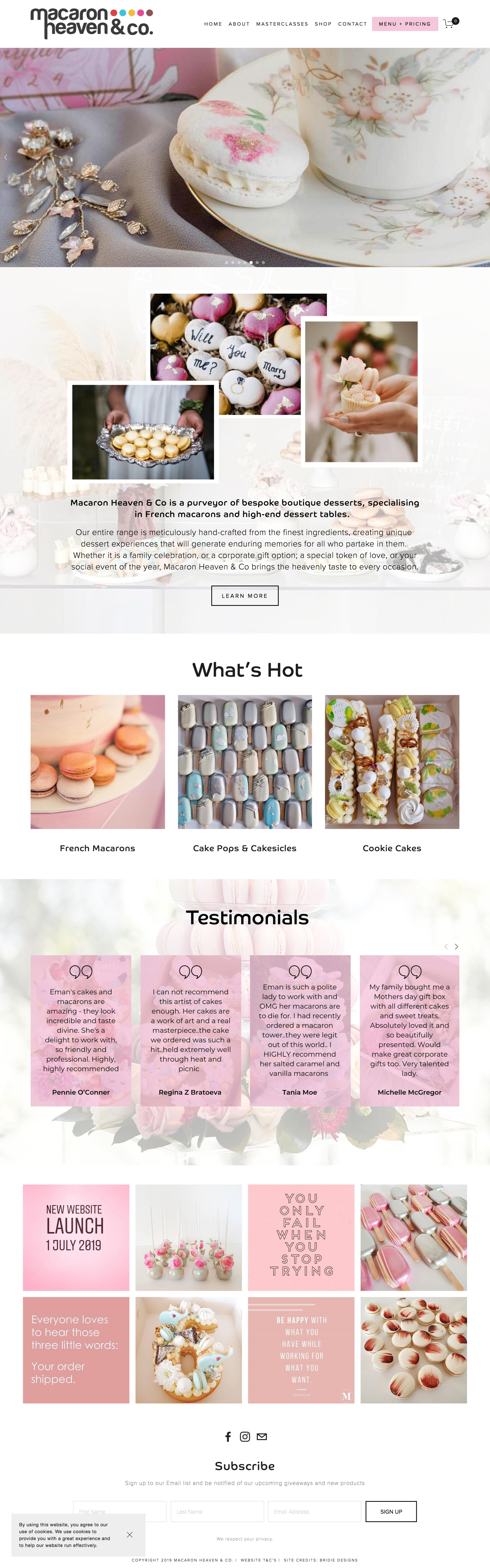 Macaron Heaven & Co Website.png