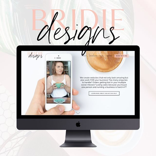 We're LIVE! 🥂 Head on over & check out our brand new website at bridiedesigns.com 💕 You can see all our latest projects, read up on our custom web design services, or get some nifty info about all things design, business, and lots more to come! So exited to share the with you 😊 . . . . . #squarespacedesign #squarespacecircle #newwebsitelaunch #goldcoastbusiness #brisbanebusinesswomen #websitedesigners #celebrations🎉