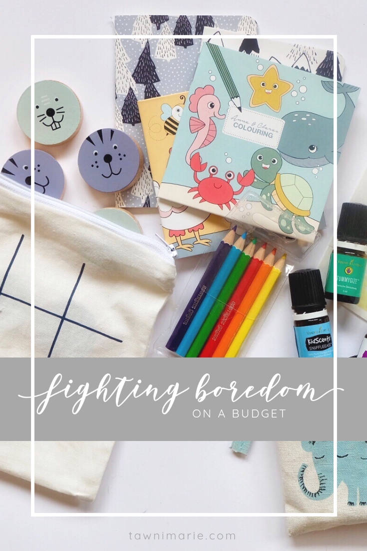 Fighting Boredom with a Budget-Friendly Busy Bag | tawnimarie.com