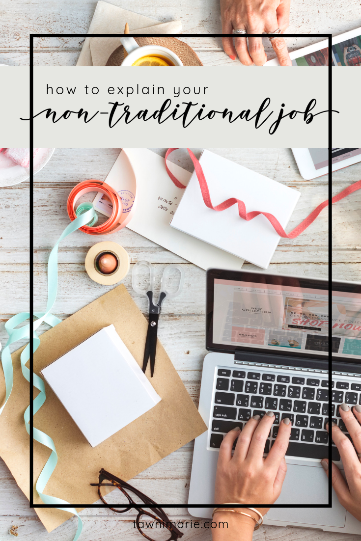 Dana Nicole Designs | How to Explain Your Non-Traditional Job to People – A Guest Post | tawnimarie.com