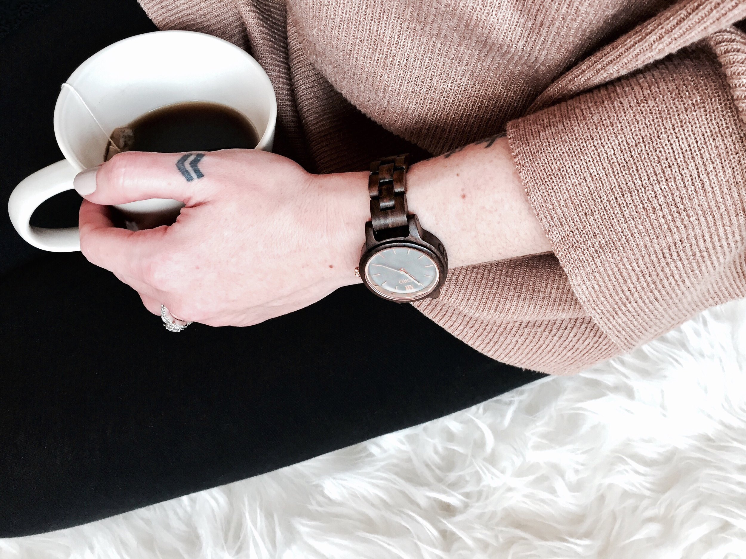 Three Reasons to Celebrate Yourself Today: A Giveaway with JORD | tawnimarie.com | JORD watch, coffee, self care, celebrate yourself