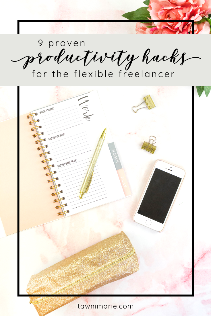 Proven Productivity Hacks for the Flexible Freelancer | home office, desk, keyboard | Photo by Emma Matthews on Unsplash | tawnimarie.com