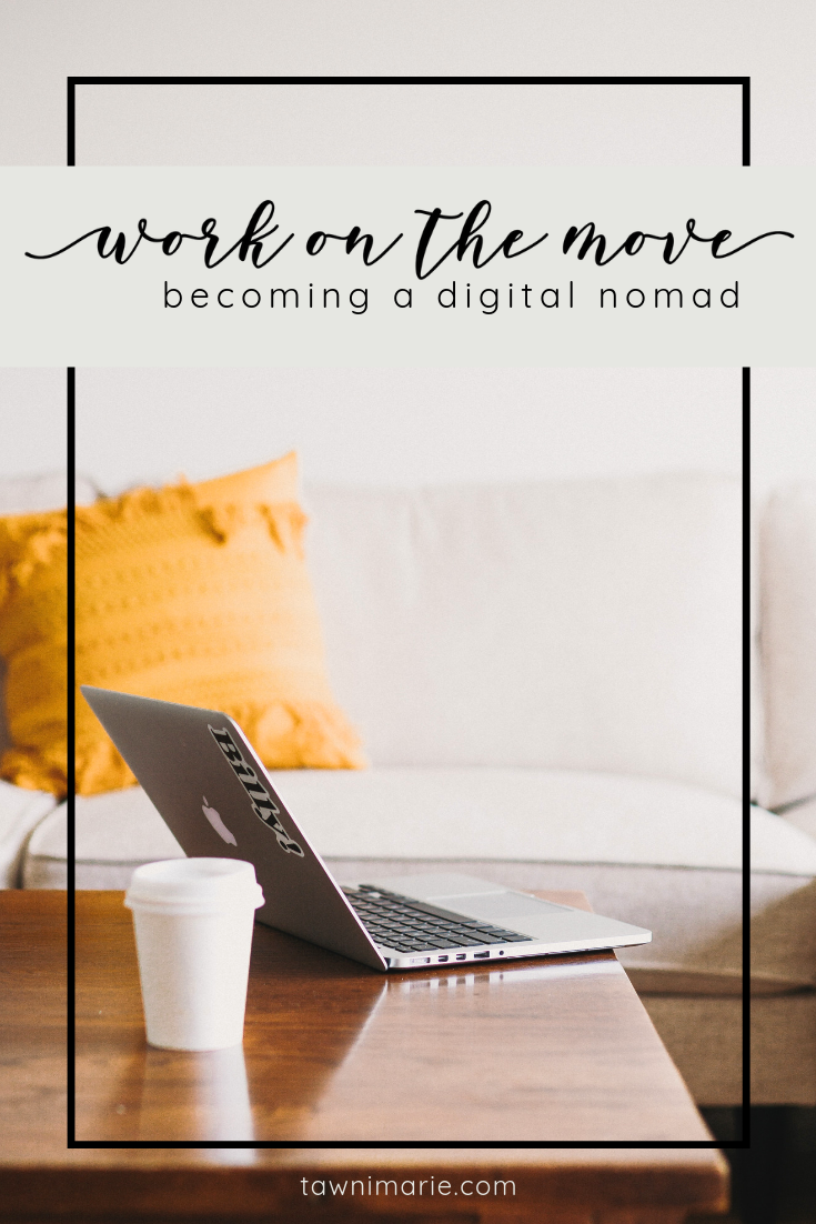 Are you tired of working at a desk all day? Dream of sunny beaches? The digital nomad life is calling! Check out this handy guide from Bestow and get started! | Photo by Ben Kolde on Unsplash | tawnimarie.com