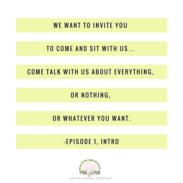 """We want to invite you to come and sit with us… come talk with us about everything, or nothing, or whatever you want."" 🤗 Have you listened to the intro episode yet? 🎧 . . . . . #pinklemonpodcast #enneagram #enneagram1 #enneagram2 #enneagram3 #enneagram4 #enneagram5 #enneagram6 #enneagram7 #enneagram8 #enneagram9 #enneagrampodcast #podcast #podcasting #expatwomen #expatpodcast #momlifepodcast #variegated #introepisode #essentialoilspodcast #womenofvienna #igersvienna #welovevienna #expatwoman #expatliving #takingroute #alifeoverseas #expatfamily #myexpatlife #velvetasheseurope"