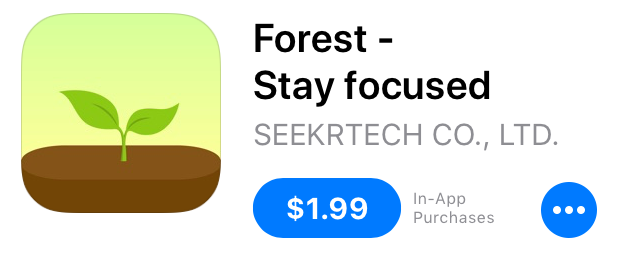 Top Lifestyle Apps for Focus and Productivity | tawnimarie.com | Forest