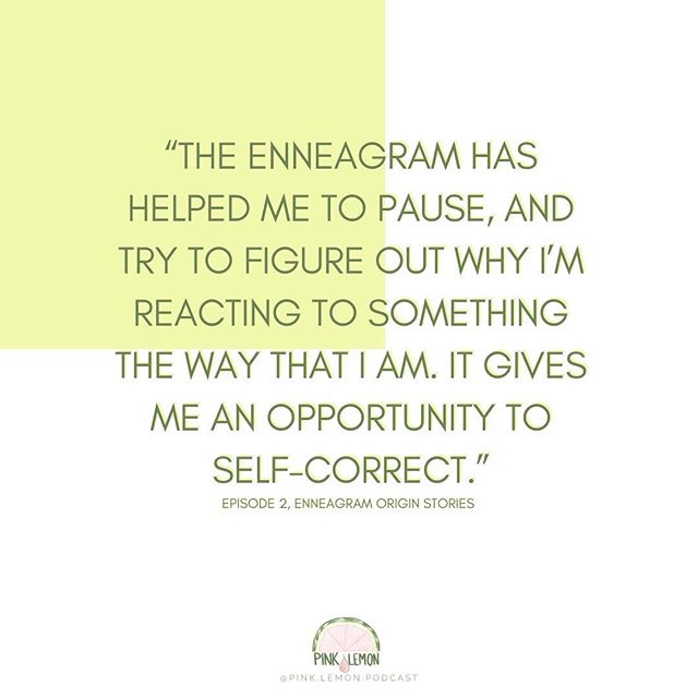 """The Enneagram has helped me to pause, and try to figure out why I'm reacting to something the way that I am. It gives me an opportunity to self-correct."" 🙏🏻 How has the Enneagram changed the way you think/respond? . . . . . #pinklemonpodcast #enneagram #enneagram1 #enneagram2 #enneagram3 #enneagram4 #enneagram5 #enneagram6 #enneagram7 #enneagram8 #enneagram9 #enneagrampodcast #podcast #podcasting #expatwomen #expatpodcast #momlifepodcast #variegated #introepisode #essentialoilspodcast #womenofvienna #igersvienna #welovevienna #expatwoman #expatliving #takingroute #alifeoverseas #expatfamily #myexpatlife #velvetasheseurope"