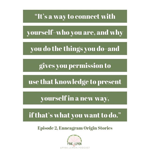"""It's a way to connect with yourself–who you are, and why you do the things you do–and gives you permission to use that knowledge to 𝐩𝐫𝐞𝐬𝐞𝐧𝐭 𝐲𝐨𝐮𝐫𝐬𝐞𝐥𝐟 𝐢𝐧 𝐚 𝐧𝐞𝐰 𝐰𝐚𝐲, 𝐢𝐟 𝐭𝐡𝐚𝐭'𝐬 𝐰𝐡𝐚𝐭 𝐲𝐨𝐮 𝐰𝐚𝐧𝐭 𝐭𝐨 𝐝𝐨."""
