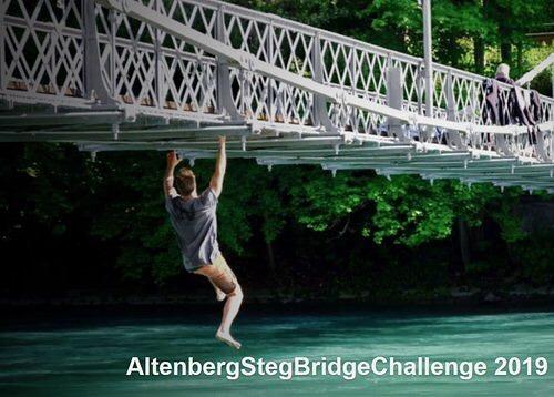 """Morgen hostet @workoutnomad die legendäre """"The Bridge Challenge"""" am Altenbergsteg! Bei uns im @trybhouz gibts ein paar tolle Preise zu gewinnen!💥 Infos & Anmeldung zum Event: workoutnomad.ch/wbc/  #thebridgechallenge #altenbergsteg #climbing #trybhouzbar #trybhouz #altenbergsteg #bern #bärn #aare #etrefort #workoutnomad"""
