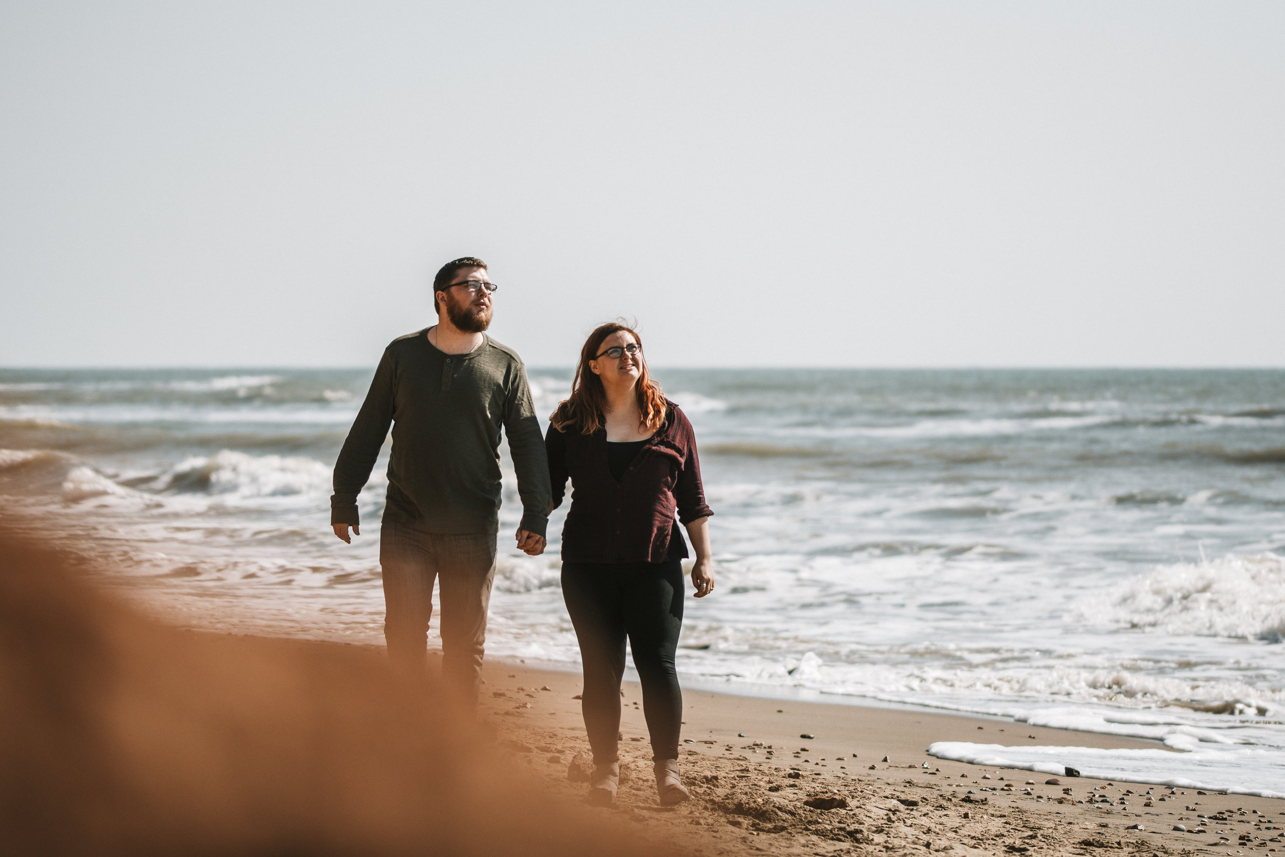 Beach Walk Engagement Photography.jpg
