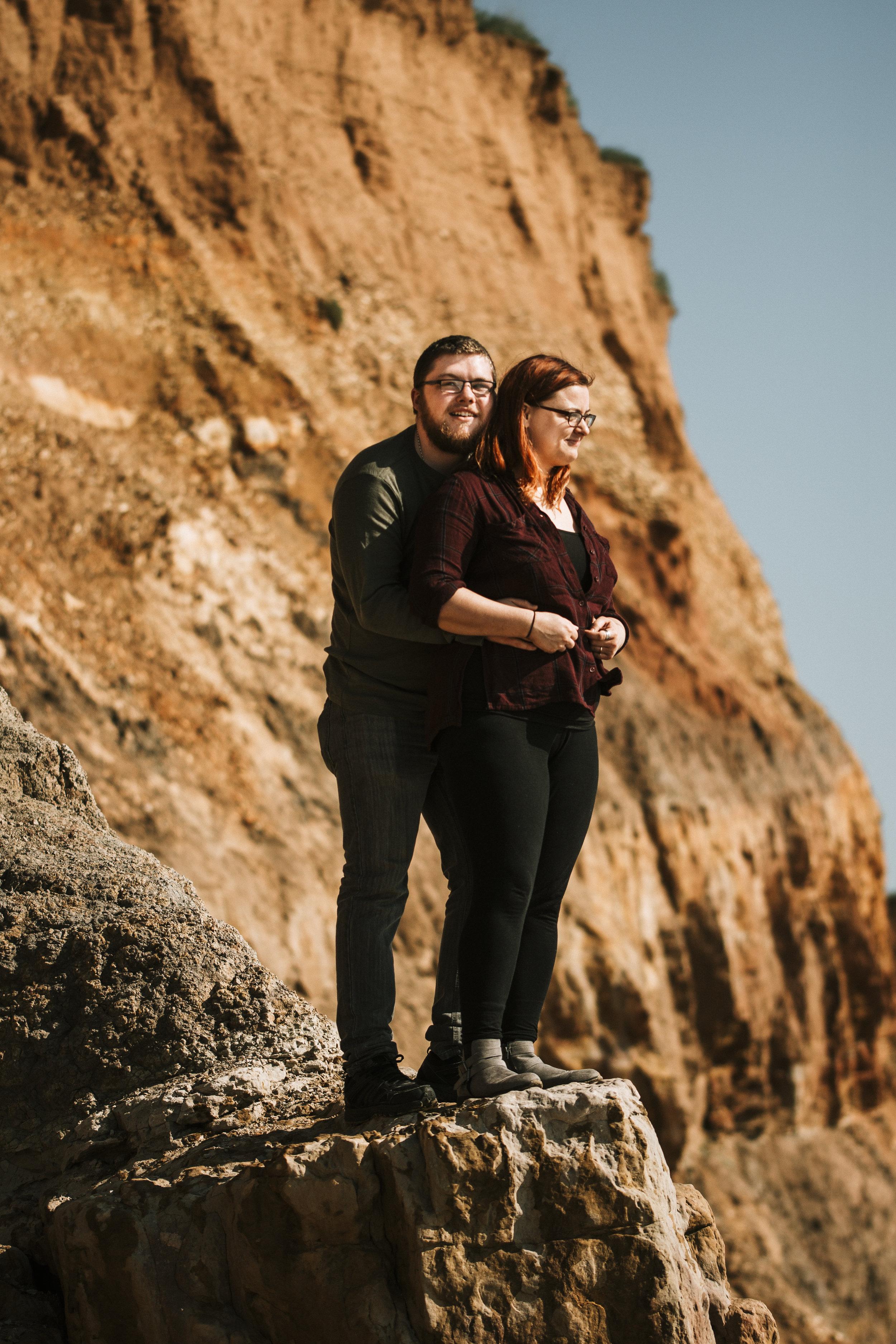 Cliffs engagement shoot isle of wight.jpg