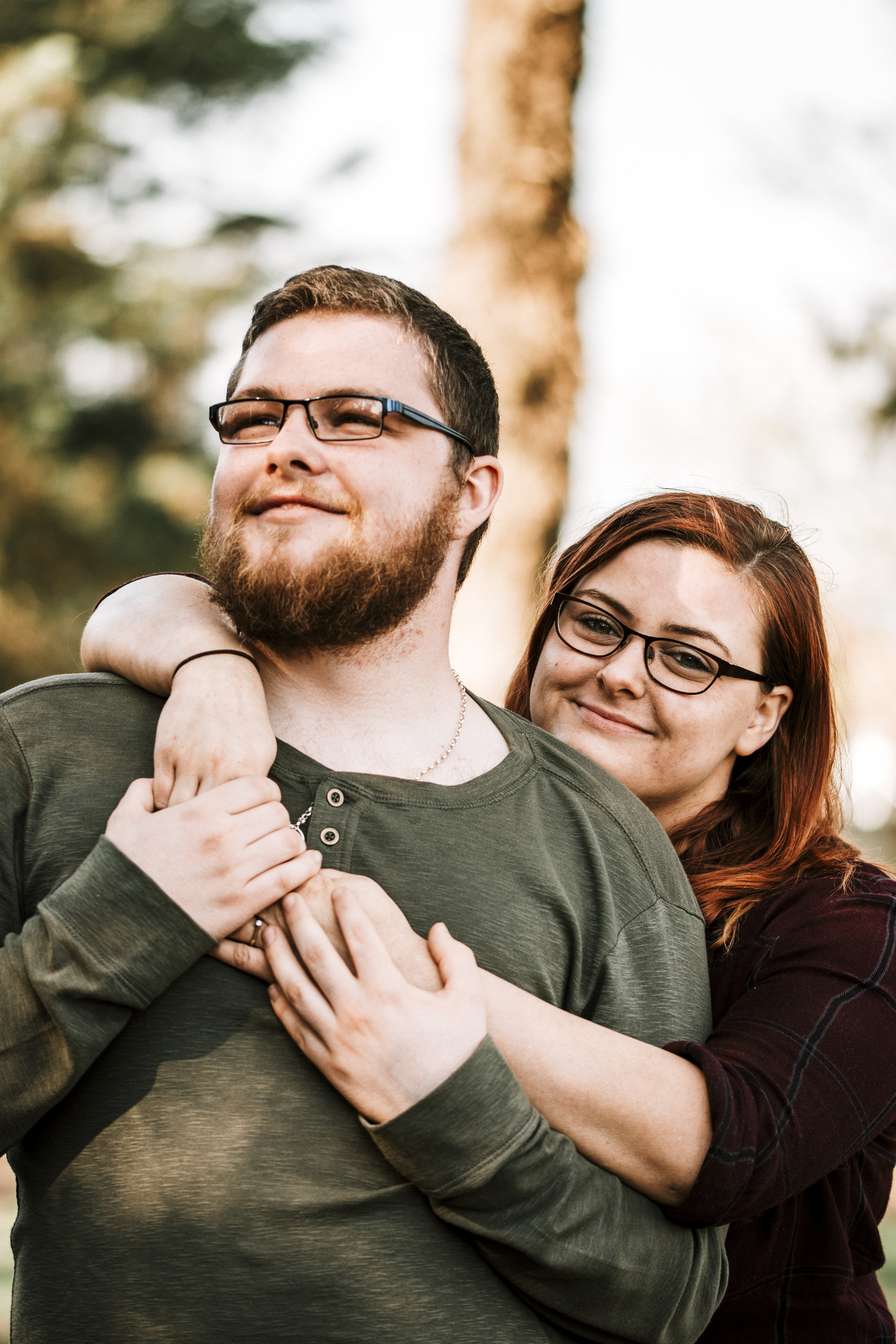 Hampshire Engagement Shoot in a Forest.jpg