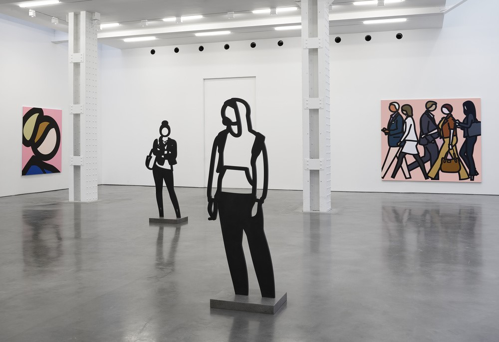 Julian Opie at Lisson Gallery, 2019
