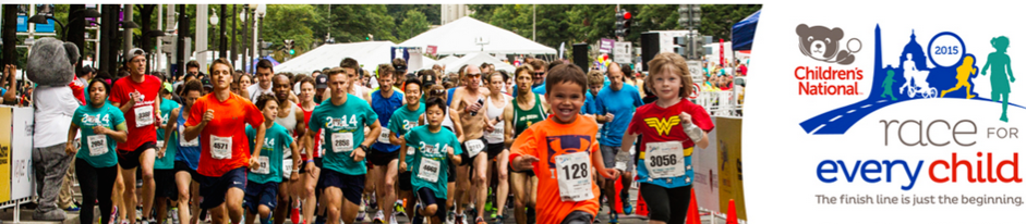 5,500 runners of all ages came out to support Childrens Hospital
