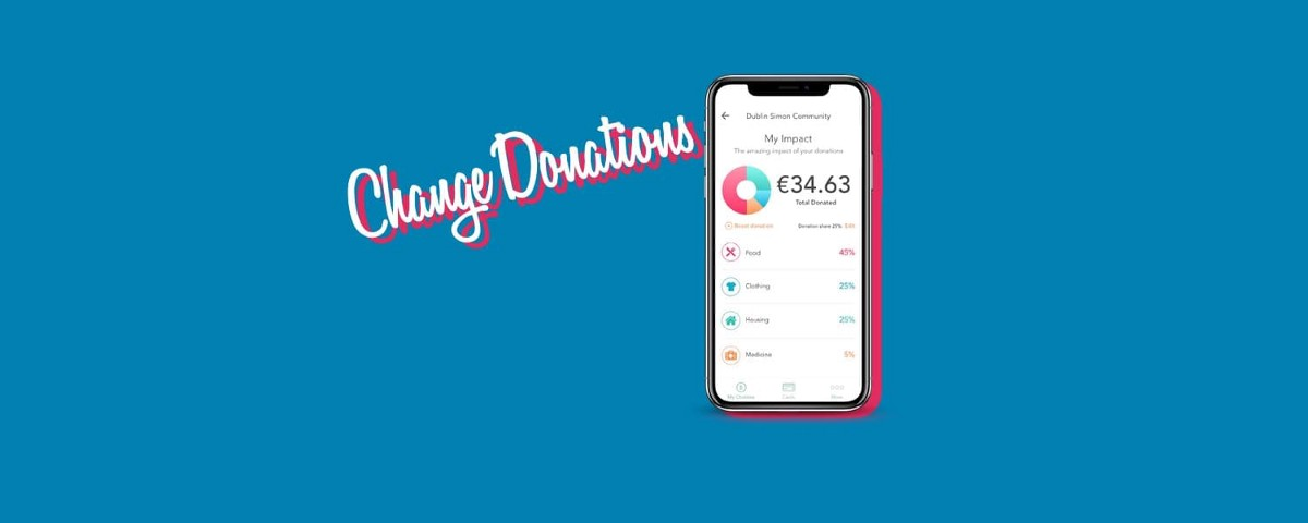 Goosed - Change Donations: Donate Digital Loose Change To Charities