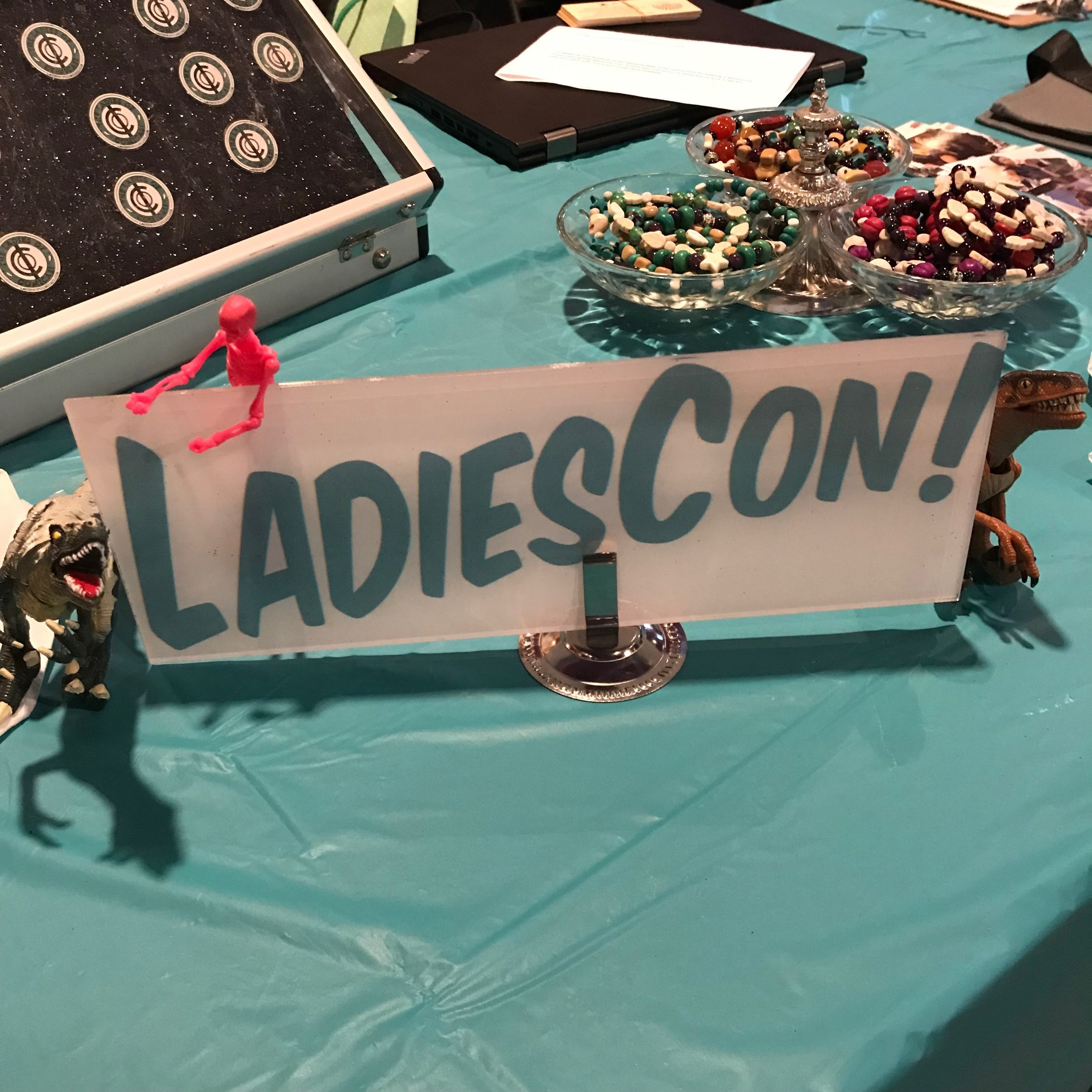 What is LadiesCon? - LadiesCon is a FREE ADMISSION one day celebration of comics, science fiction, fantasy, cosplay, and many other realms of pop culture with a special focus on women, non-binary people, and the LGBTQ+ community. We are open to everyone.Learn More