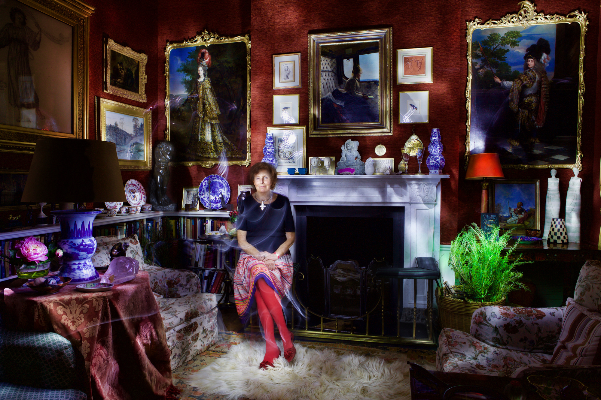 Lady Amabel Lindsay, Light Painting