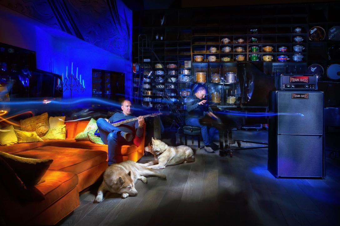 Francesco Cameli, Sphere Studios, Light Painting