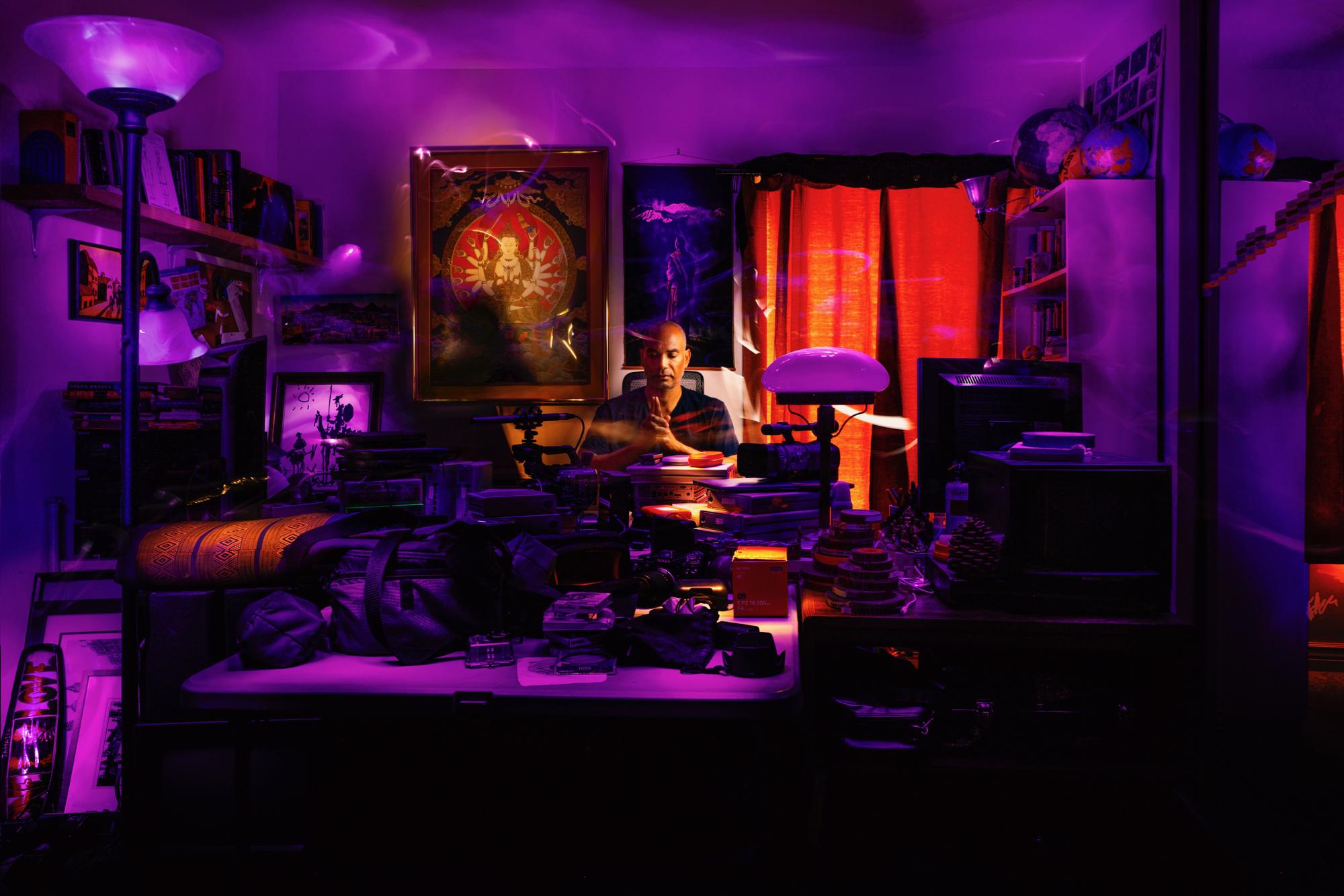 Casey Bridges, Light Painting