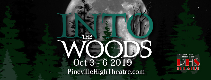 PHS Into the Woods - Banner 2019