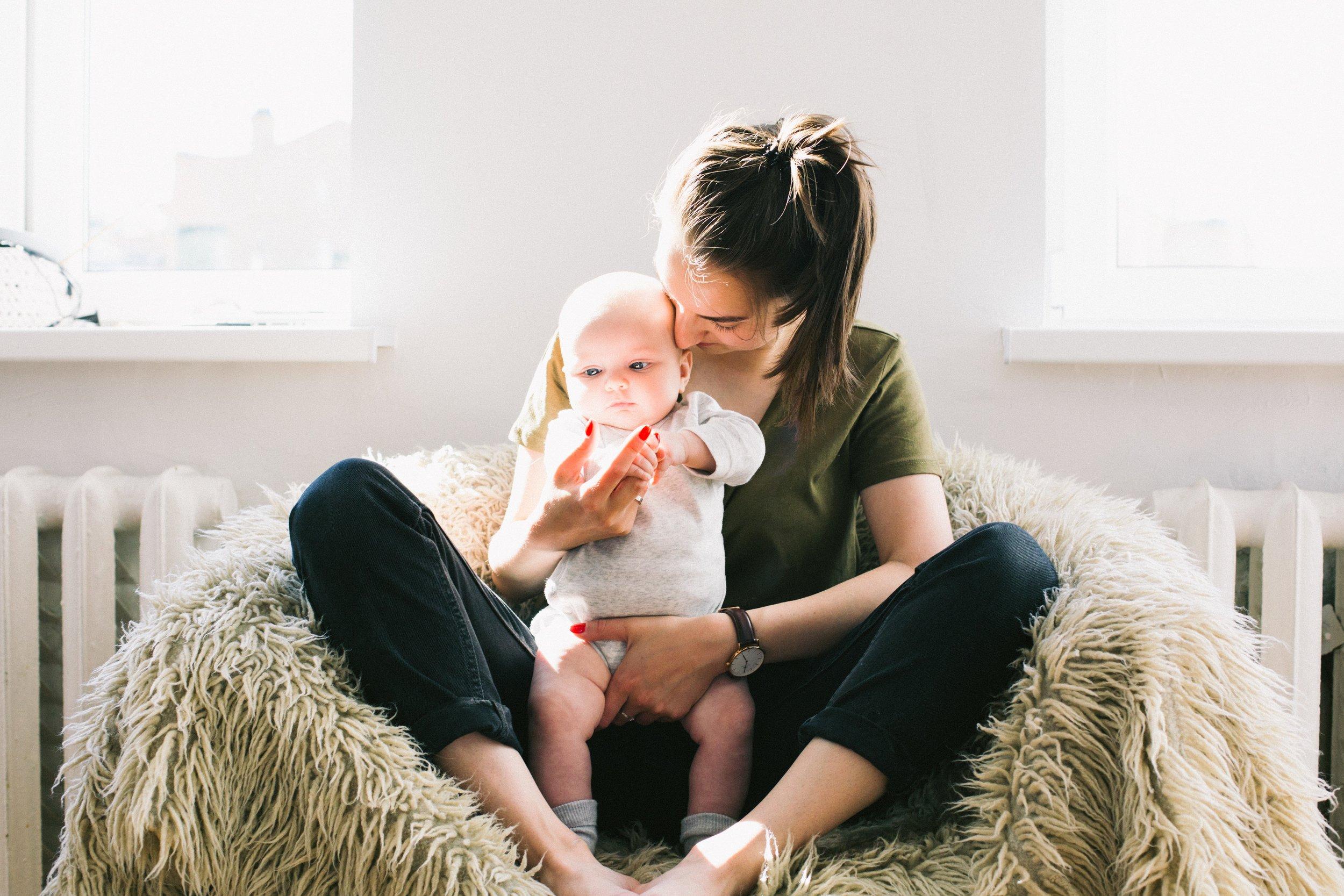 6 Ways to Set Boundaries Postpartum - By Kelly Mitchem