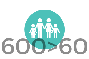 5-600 children are in the foster care system, yet fewer than 60 families are currently licensed with Meck. county. -