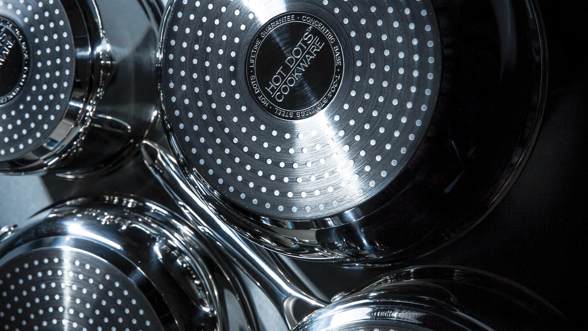 Hot Dots Cookware - Visit WebsiteWarranty Info