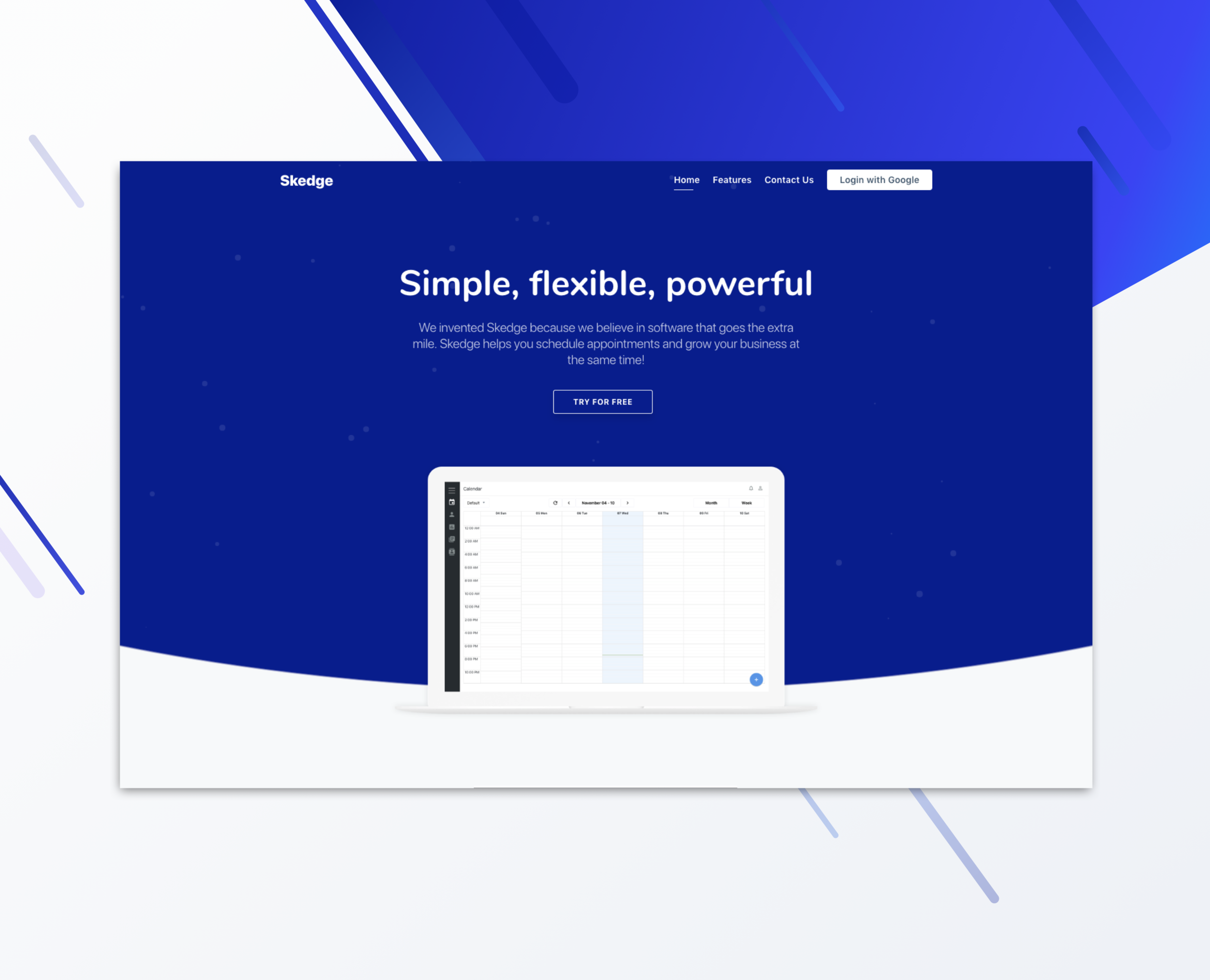 Skedge.io  Scheduling and Booking Software