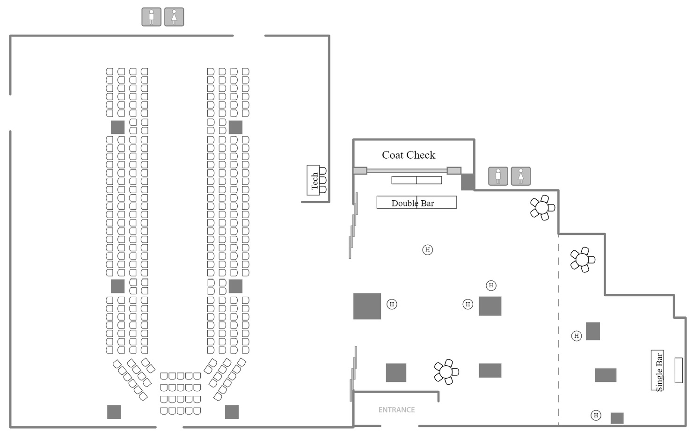 Fashion Show Floor Plan