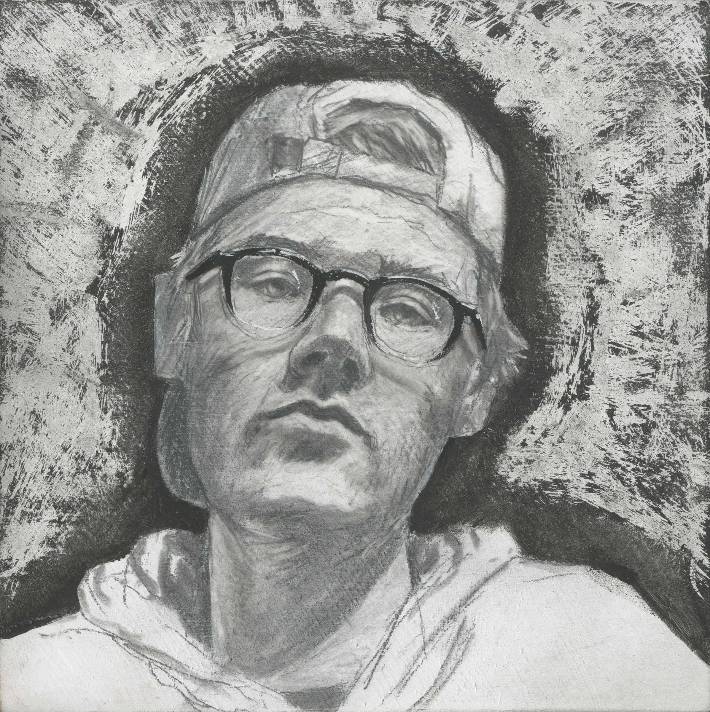 Self Portrait,  Mixed Media