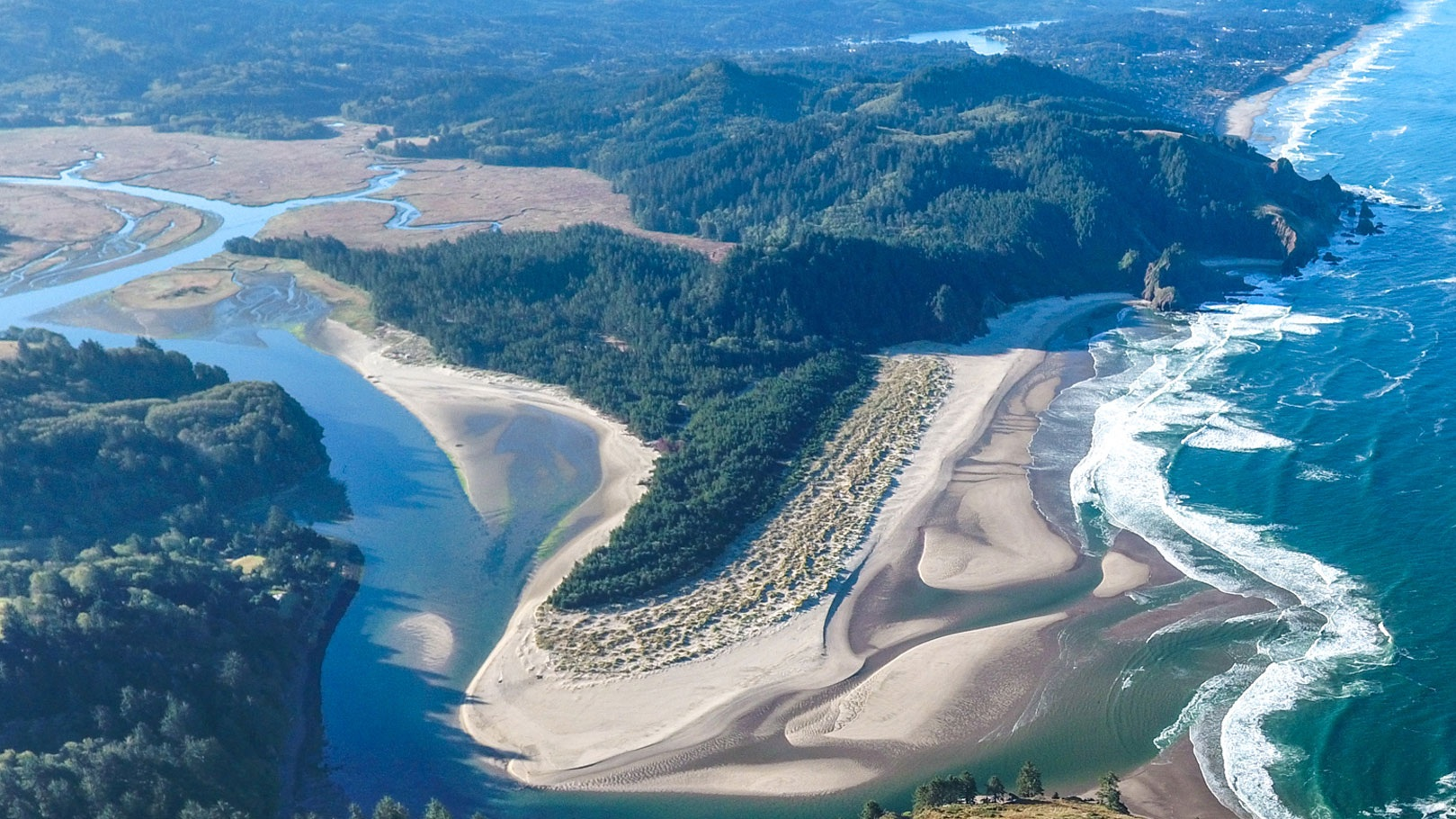 welcome to the UNESCO biosphere reserve at cascade head