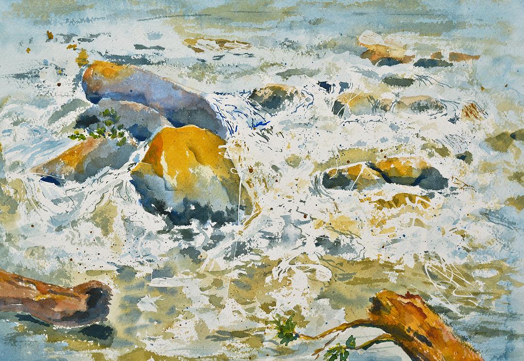 Water and Rocks by Jan Kraus.