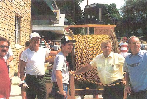 First Tug Fest 1987  Jess Casilles, Don Johnson, Gary Knapp, Boots Knapp, & Swede Carlson