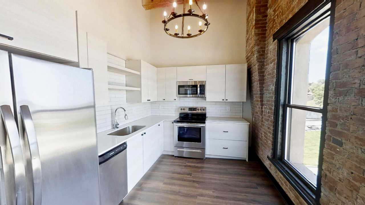 Landmark Lofts River Market Apartments | Bourgmont Lofts
