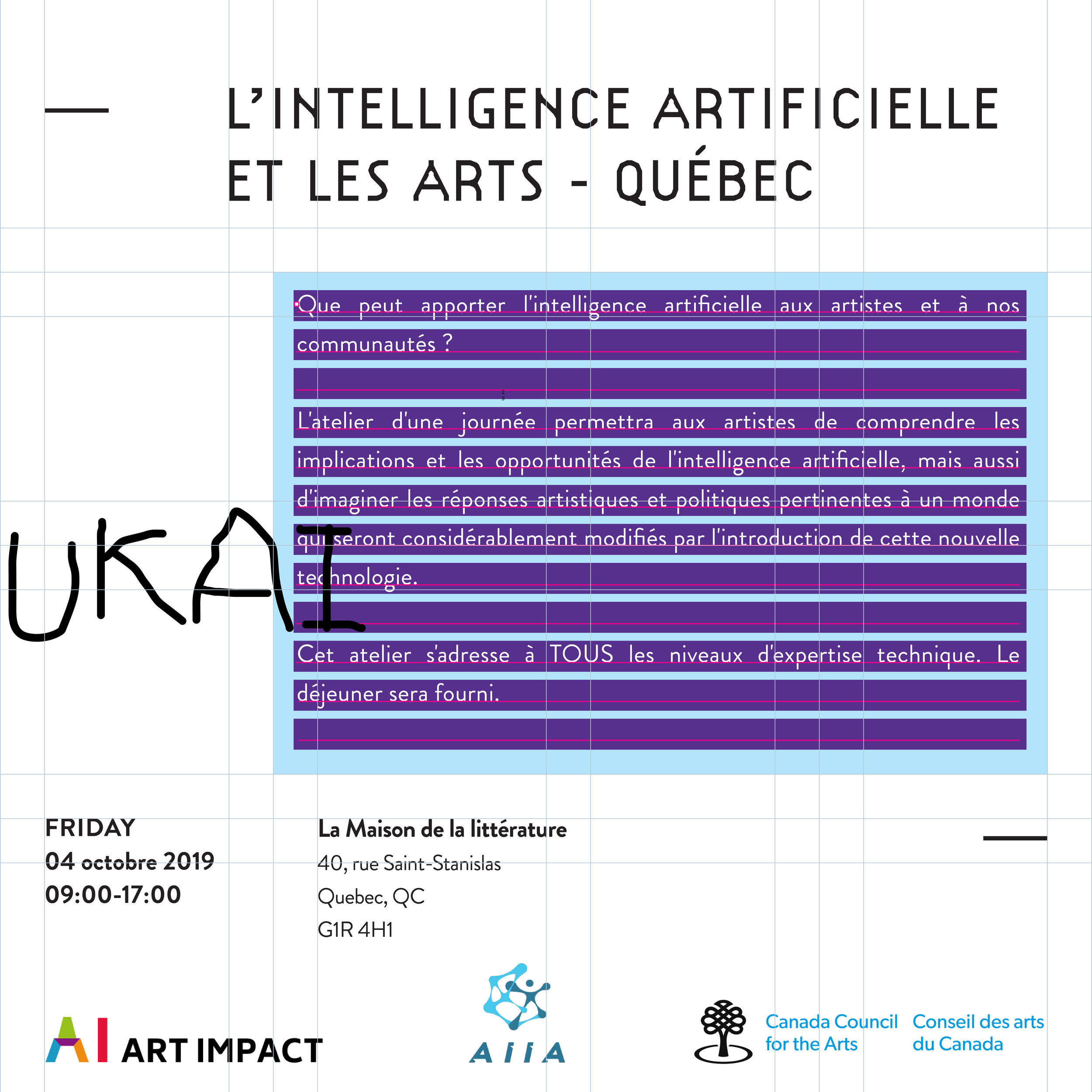 L'Intelligence Artificielle et les Arts - Quebec