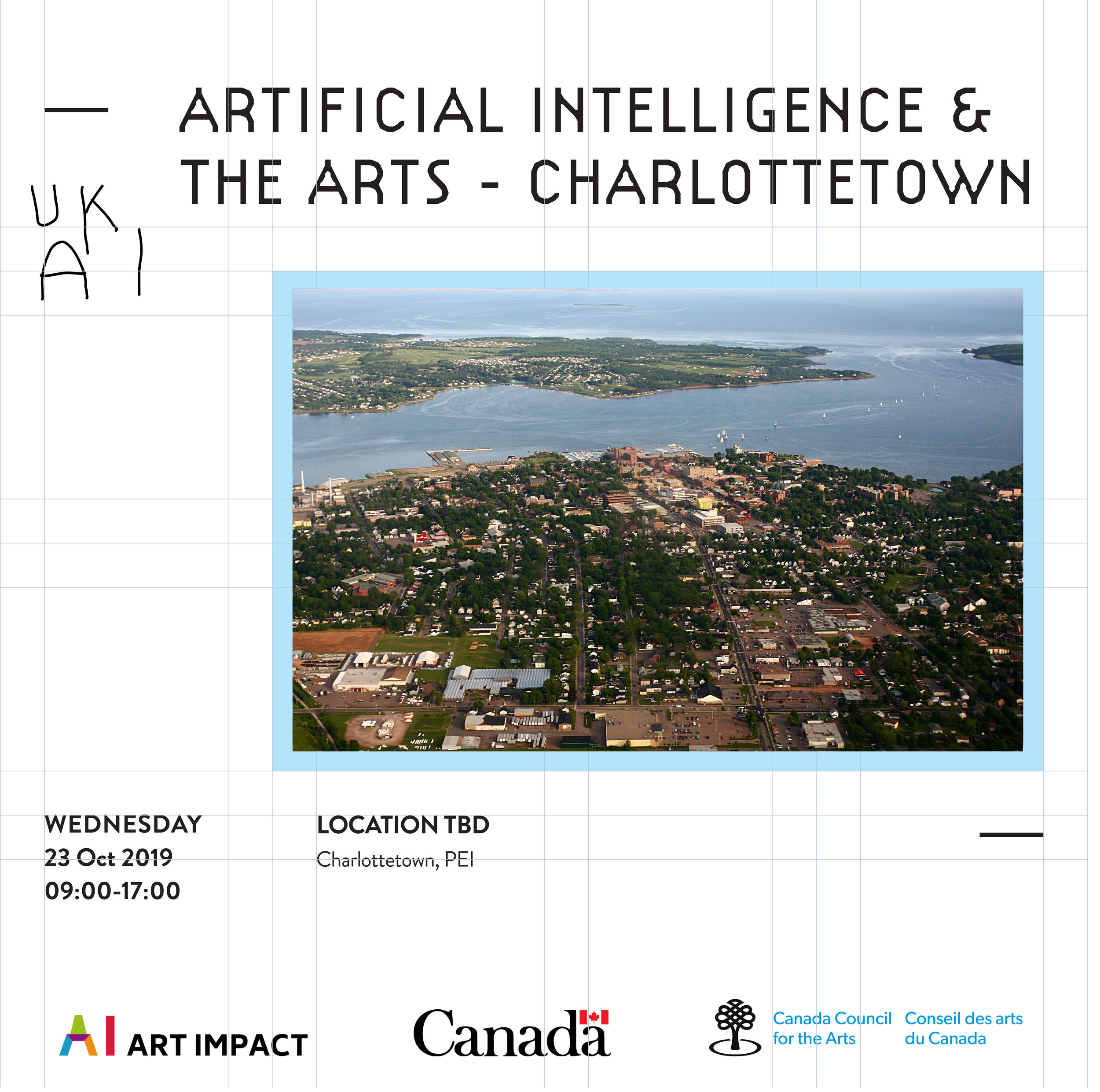 Artificial Intelligence and the Arts - Charlottetown