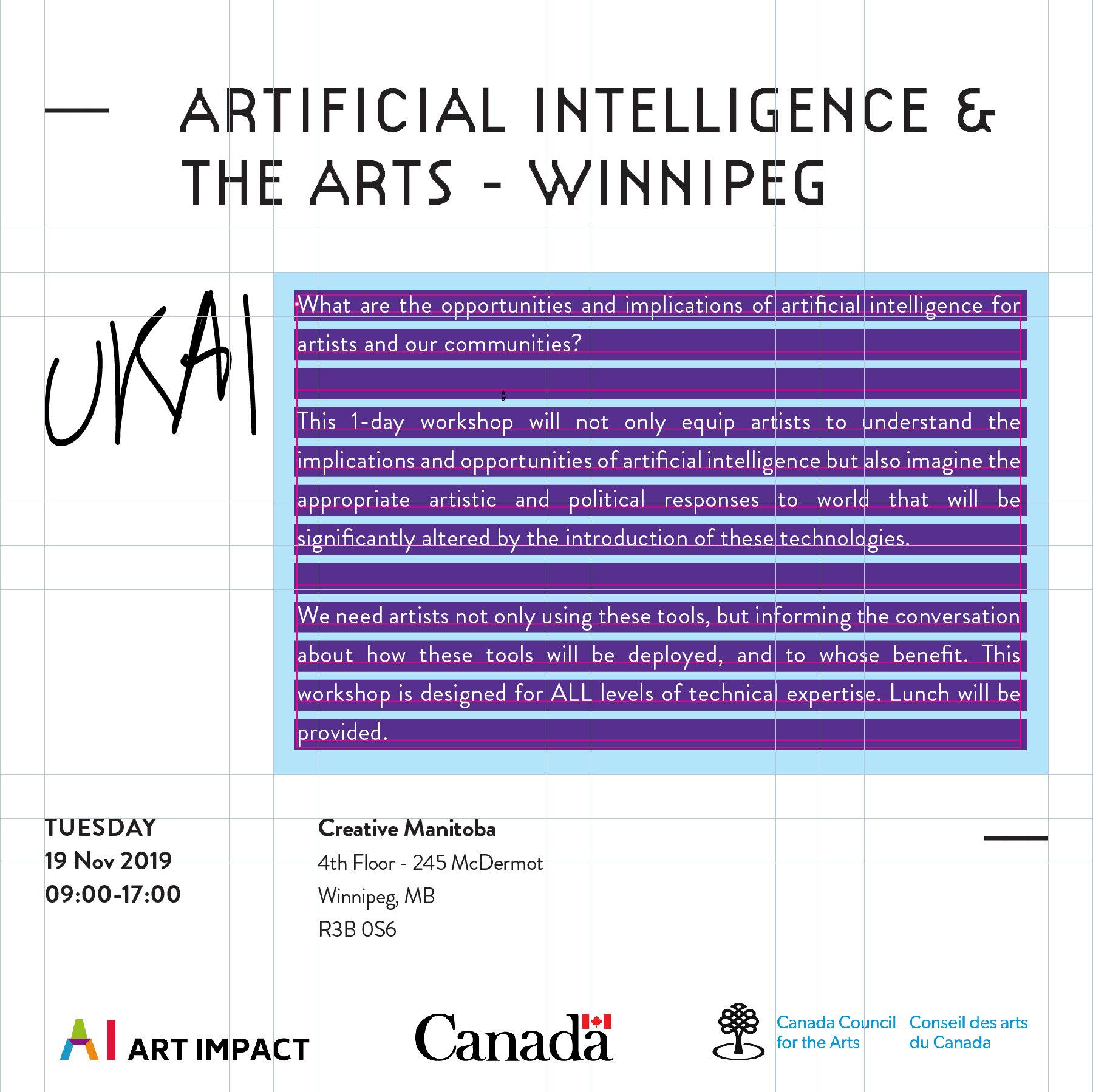 Artificial Intelligence and the Arts - Winnipeg